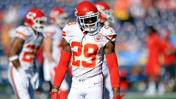 Eric Berry had a big day along with the rest of the Chiefs defense