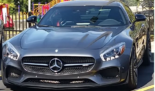 Mercedes Benz AMG GTS G500, one off the vehicles purchased by Thomas Hauk with money he stole