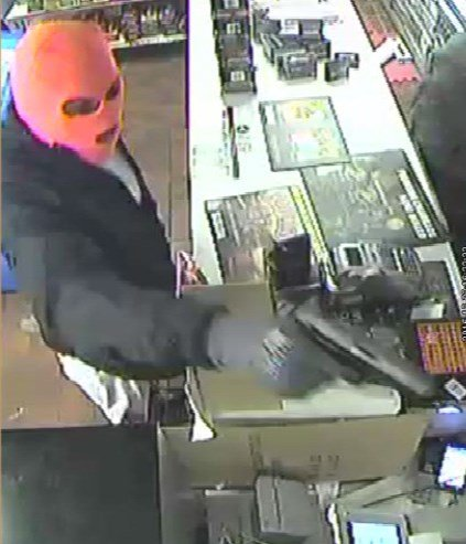 Surveillance pics of Independence robbery