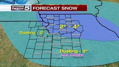 winter weather advisory, snow awaits metro kctv5