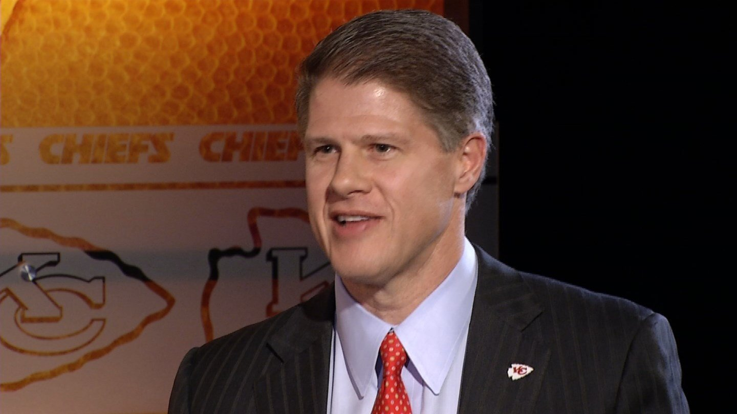 Following the death of his fatherin 2006, Clark Hunt, his sister, and two brothers inherited ownership of the Chiefs.