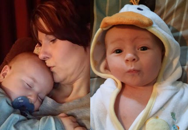 Family members say the bodies of 32-year-old Heather Denham and her baby,Mason Denham,were found in the rubble of a house fire over the weekend. (Submitted photo)