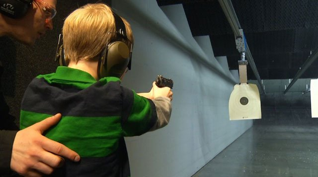Local gun ranges offer shooting classes specifically for children, hoping one day it could save a life. (KCTV5)