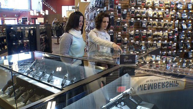 Female gun ownership is at an all time and local businesses are stepping up their game to get them in their stores. (KCTV5)