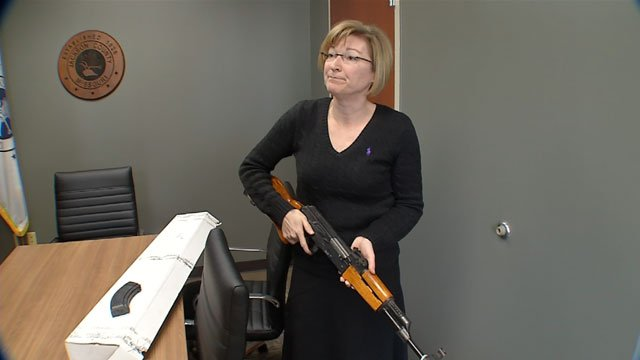 Getting illegal guns off the street is a top priority,not only for the Kansas City Police Department but also for the Jackson County Prosecutor's Office. (KCTV5)