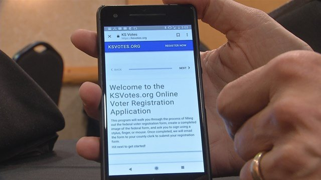 The online option is called KS Votes and has already been used by more than 4,000 people. (KCTV5)