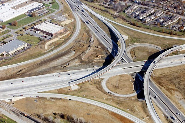 The 2018 Kansas Infrastructure Report Card gave the state a C, an improvement from the previous report in 2013, a C-. (Facebook/Kansas Department of Transportation)