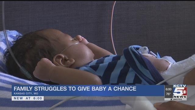 Kansas City family counts blessings as baby turns 9 weeks old